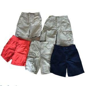 Boys' Shorts Lot of 5 Pairs Various Brands Summer